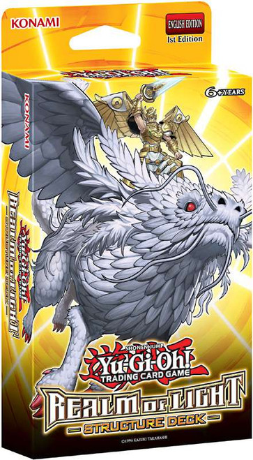 YuGiOh Realm of Light Structure Deck Realm of Light Structure Deck [Sealed Deck]