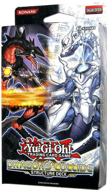 YuGiOh Dragons Collide Structure Deck Dragons Collide Structure Deck [Sealed Deck]