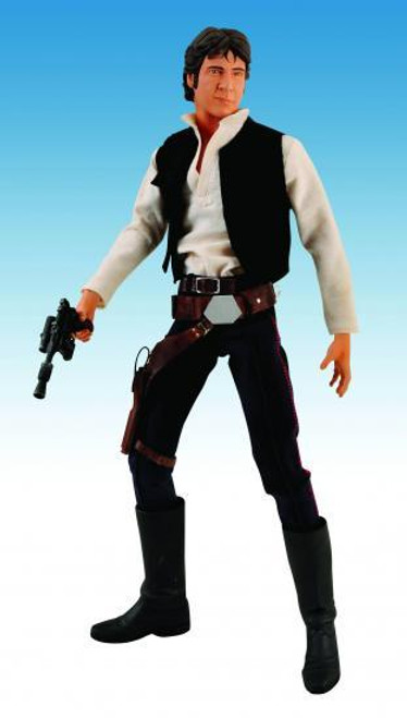 Star Wars A New Hope Ultimate Quarter Scale Han Solo Action Figure