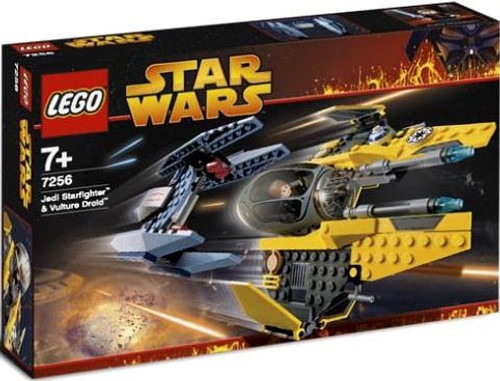 LEGO Star Wars Revenge of the Sith Jedi Starfighter & Vulture Droid Set #7256