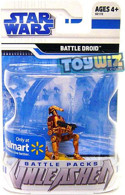 Star Wars The Clone Wars Unleashed Battle Packs 2009 Desert Battle Droid Exclusive Action Figure