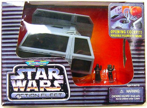 Star Wars A New Hope Micro Machines Action Fleet Darth Vader's Tie Fighter Mini Vehicle