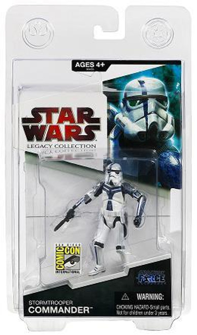 Star Wars Force Unleashed Exclusives 2009 Stormtrooper Commander Exclusive Action Figure
