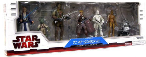 Star Wars Expanded Universe Ralph McQuarrie Signature Series 2009 Exclusive Action Figure Set #1 [1 of 2]