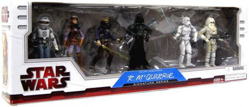 Star Wars Expanded Universe Ralph McQuarrie Signature Series 2009 Exclusive Action Figure Set #2 [2 of 2]