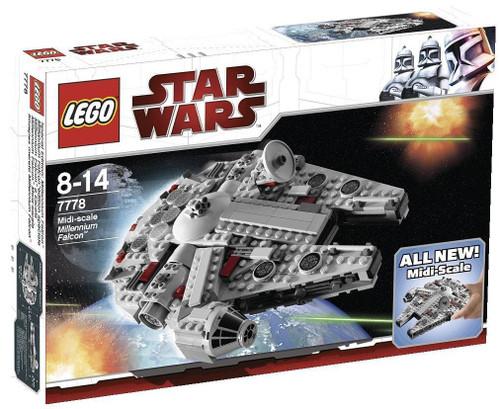 LEGO Star Wars A New Hope Midi-Scale Millennium Falcon Set #7778