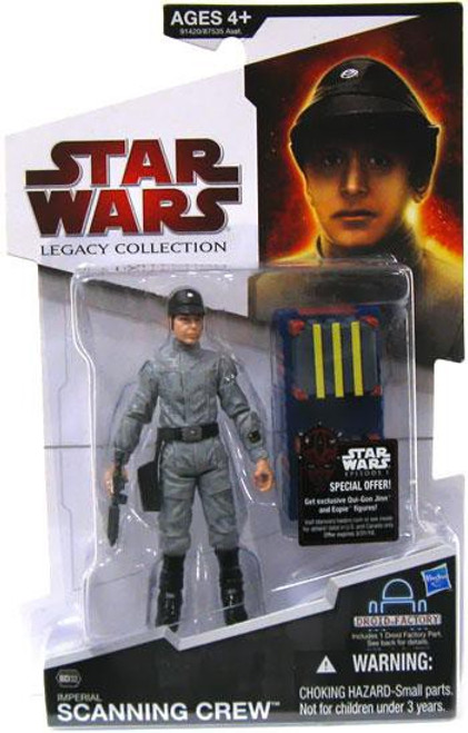 Star Wars A New Hope Legacy Collection 2009 Droid Factory Imperial Scanning Crew Technician Action Figure BD32