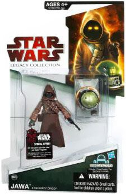 Star Wars Legacy Collection 2009 Droid Factory Jawa Action Figure #39