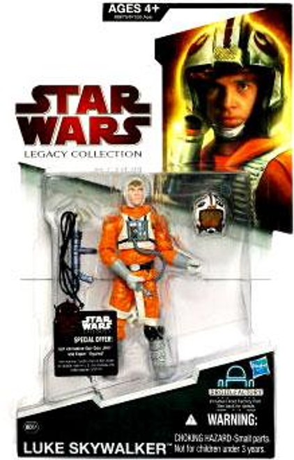 Star Wars The Empire Strikes Back Legacy Collection 2009 Droid Factory Luke Action Figure BD51 [Snowspeeder Outfit]