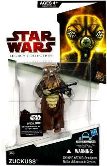 Star Wars The Empire Strikes Back Legacy Collection 2009 Droid Factory Zuckuss Action Figure BD52