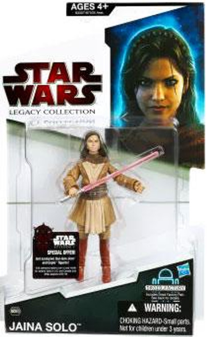 Star Wars Expanded Universe Legacy Collection 2009 Droid Factory Jaina Solo Action Figure BD60