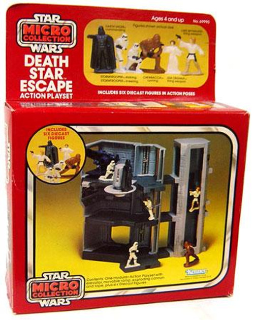 Star Wars A New Hope Micro Collection Death Star Escape Diecast Figure Playset