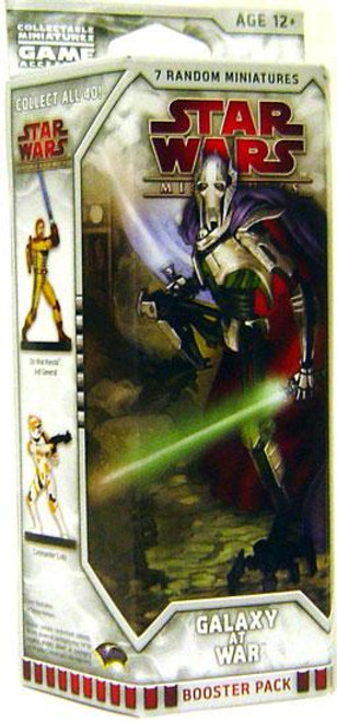 Star Wars Collectible Miniatures Game Galaxy at War Booster Pack