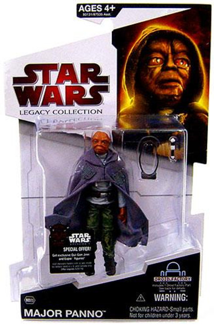 Star Wars The Clone Wars Legacy Collection 2009 Droid Factory Major Panno Action Figure BD20