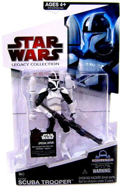 Star Wars Legacy Collection 2009 Droid Factory Scuba Trooper Action Figure #27