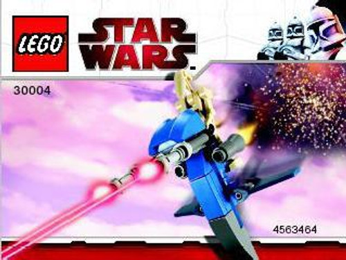 LEGO Star Wars The Phantom Menace Battle Droid on STAP Exclusive Mini Set #30004 [Bagged]