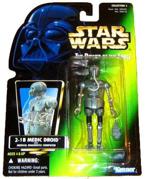 Star Wars The Empire Strikes Back Power of the Force POTF2 Collection 2 2-1B Medical Droid Action Figure [Hologram Card]