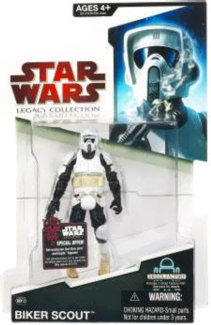 Star Wars Return of the Jedi Legacy Collection 2009 Droid Factory Biker Scout Action Figure BD12