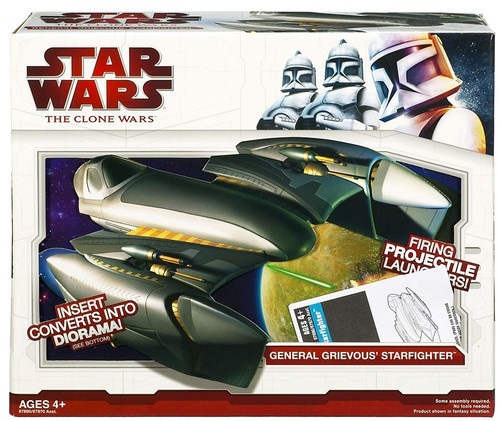 Star Wars The Clone Wars Vehicles 2009 General Grievous' Starfighter Action Figure Vehicle