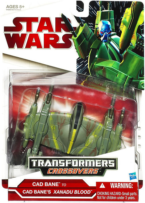 Star Wars The Clone Wars Transformers Crossovers 2009 Cad Bane to Xanadu Blood Action Figure