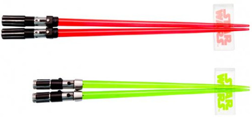 Star Wars Darth Vader & Yoda Lightsaber Chopsticks