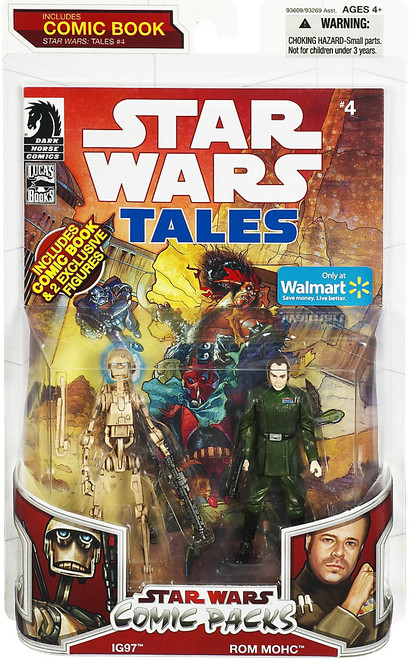 Star Wars Expanded Universe Comic Packs 2009 IG97 & Rom Mohc Exclusive Action Figure 2-Pack #4
