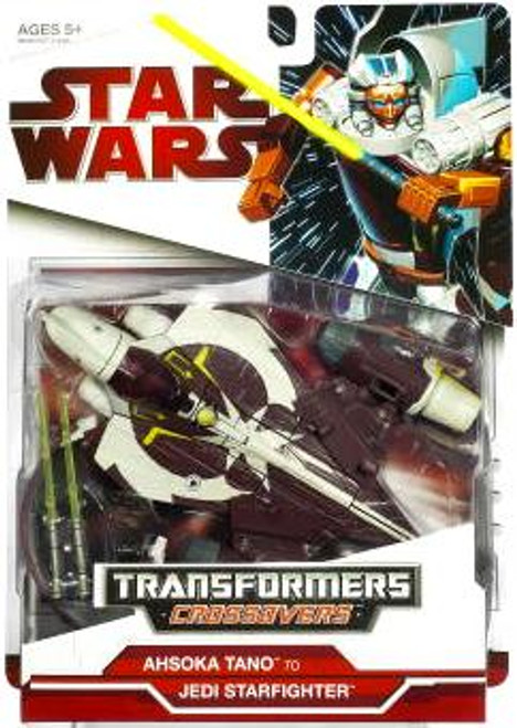 Star Wars The Clone Wars Transformers Crossovers 2009 Ahsoka Tano to Jedi Starfighter Action Figure