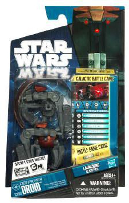 Star Wars The Clone Wars Clone Wars 2010 Destroyer Droid Action Figure CW04