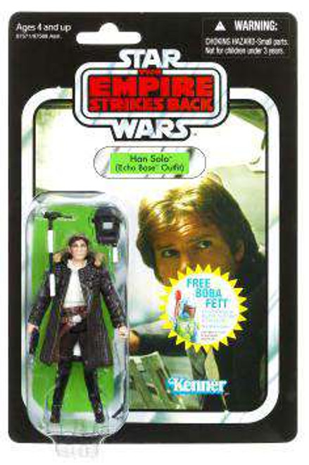Star Wars The Empire Strikes Back Vintage Collection 2010 Han Solo Action Figure #03 [Echo Base Outfit]