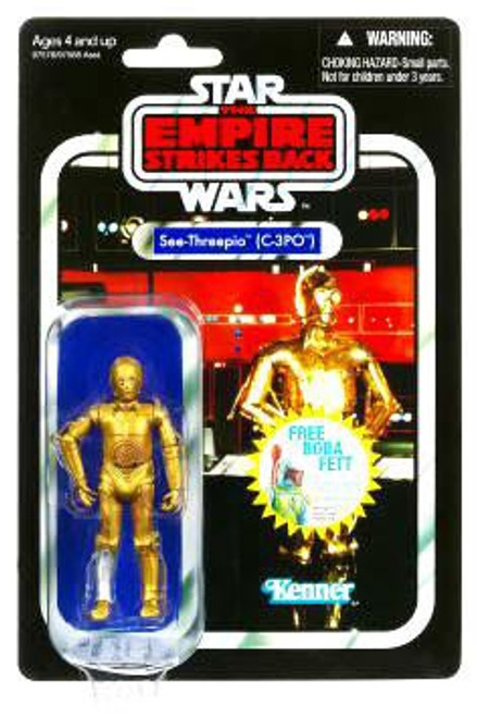 Star Wars The Empire Strikes Back Vintage Collection 2010 C-3PO Action Figure #06