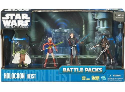 Star Wars The Clone Wars Battle Packs 2010 Holocron Heist Action Figure Set