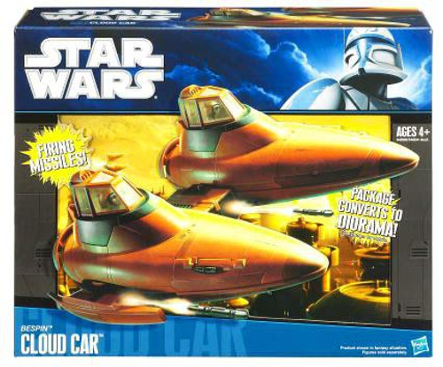 Star Wars The Empire Strikes Back Vehicles 2010 Bespin Cloud Car Action Figure Vehicle