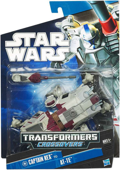 Star Wars The Clone Wars Transformers Crossovers 2010 Tank Gunner to AT-TE Action Figure