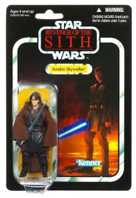 Star Wars Revenge of the Sith Vintage Collection 2010 Anakin Skywalker as Darth Vader Action Figure #13