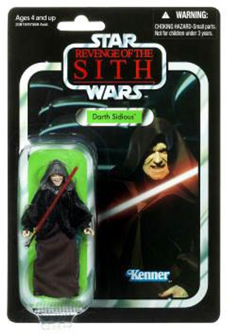 Star Wars Revenge of the Sith Vintage Collection 2010 Darth Sidious Action Figure #12