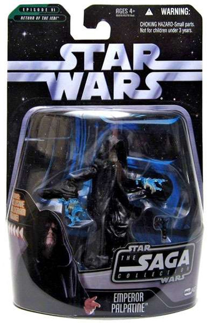 Star Wars Return of the Jedi Saga Collection 2006 Emperor Palpatine Action Figure #43