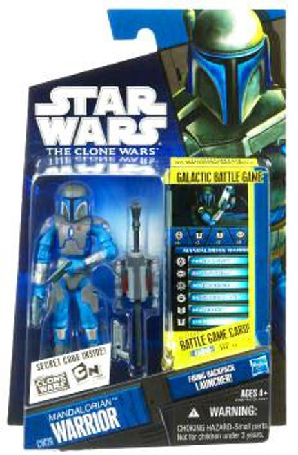 Star Wars The Clone Wars Clone Wars 2010 Mandalorian Warrior Action Figure CW29