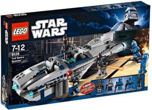 LEGO Star Wars The Clone Wars Cad Bane's Speeder Exclusive Set #8128