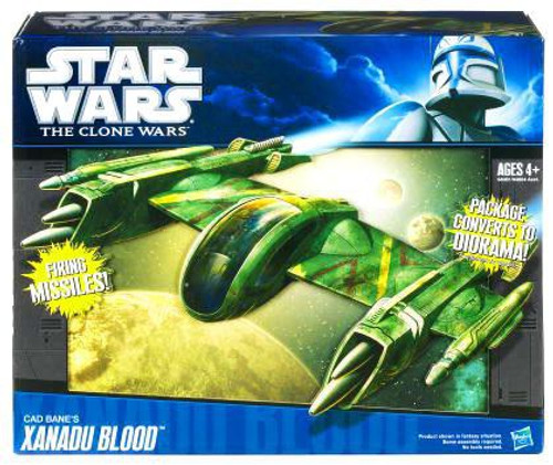 Star Wars The Clone Wars Vehicles 2010 Cad Bane's Xanadu Blood Action Figure Vehicle