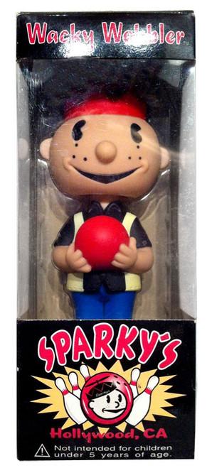 Funko Wacky Wobbler Sparky Bowler Exclusive Bobble Head