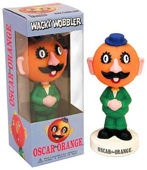 Funko Wacky Wobbler Oscar the Orange Bobble Head