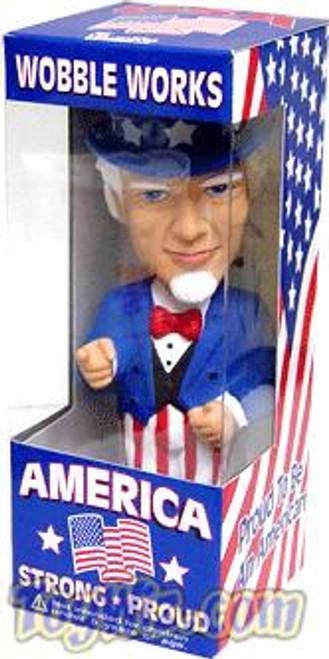 Funko Wacky Wobbler Uncle Sam Bobble Head