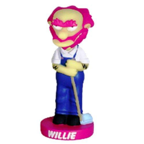 Funko The Simpsons Wacky Wobbler Groundskeeper Willie Bobble Head