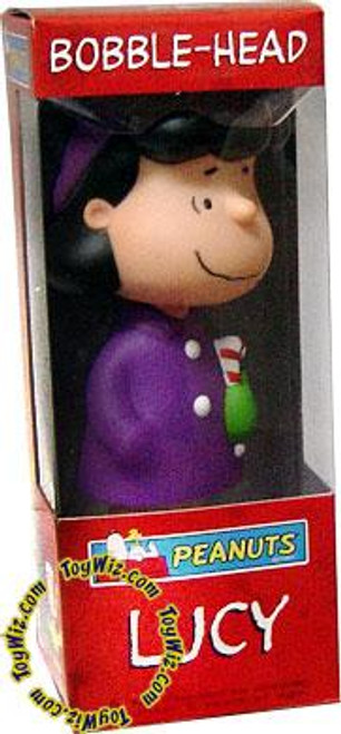 Funko Peanuts Wacky Wobbler Christmas Lucy Bobble Head