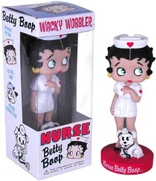 Funko Wacky Wobbler Nurse Betty Boop Bobble Head