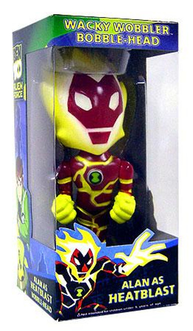 Funko Ben 10 Wacky Wobbler Heatblast Bobble Head