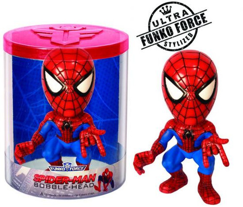 Marvel Funko Force Spider-Man Bobble Head