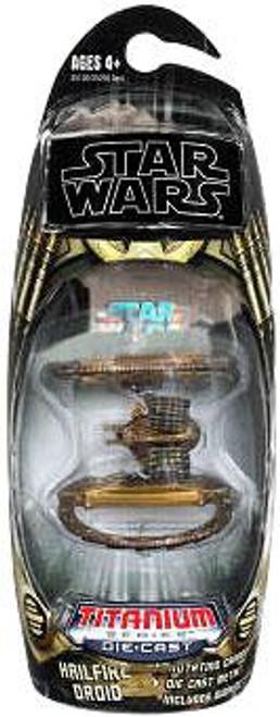 Star Wars Attack of the Clones Titanium Series 2009 Hailfire Droid Diecast Vehicle