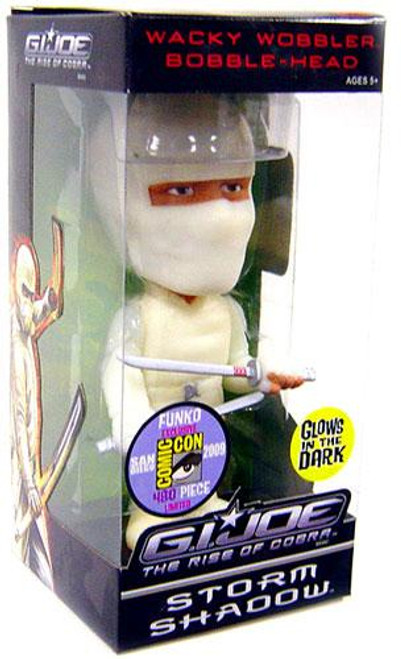 Funko GI Joe The Rise of Cobra Wacky Wobbler Storm Shadow Exclusive Bobble Head [Glow in the Dark]