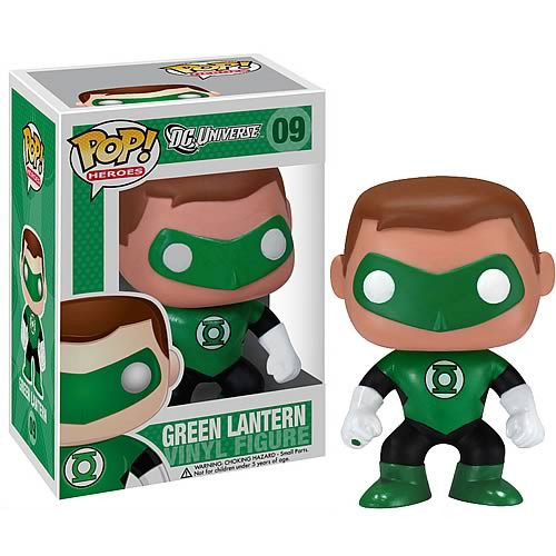 DC Universe Funko POP! Heroes Green Lantern Vinyl Figure #09